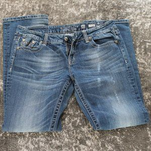 Miss Me Easy Straight Jeans   JD1037ETR